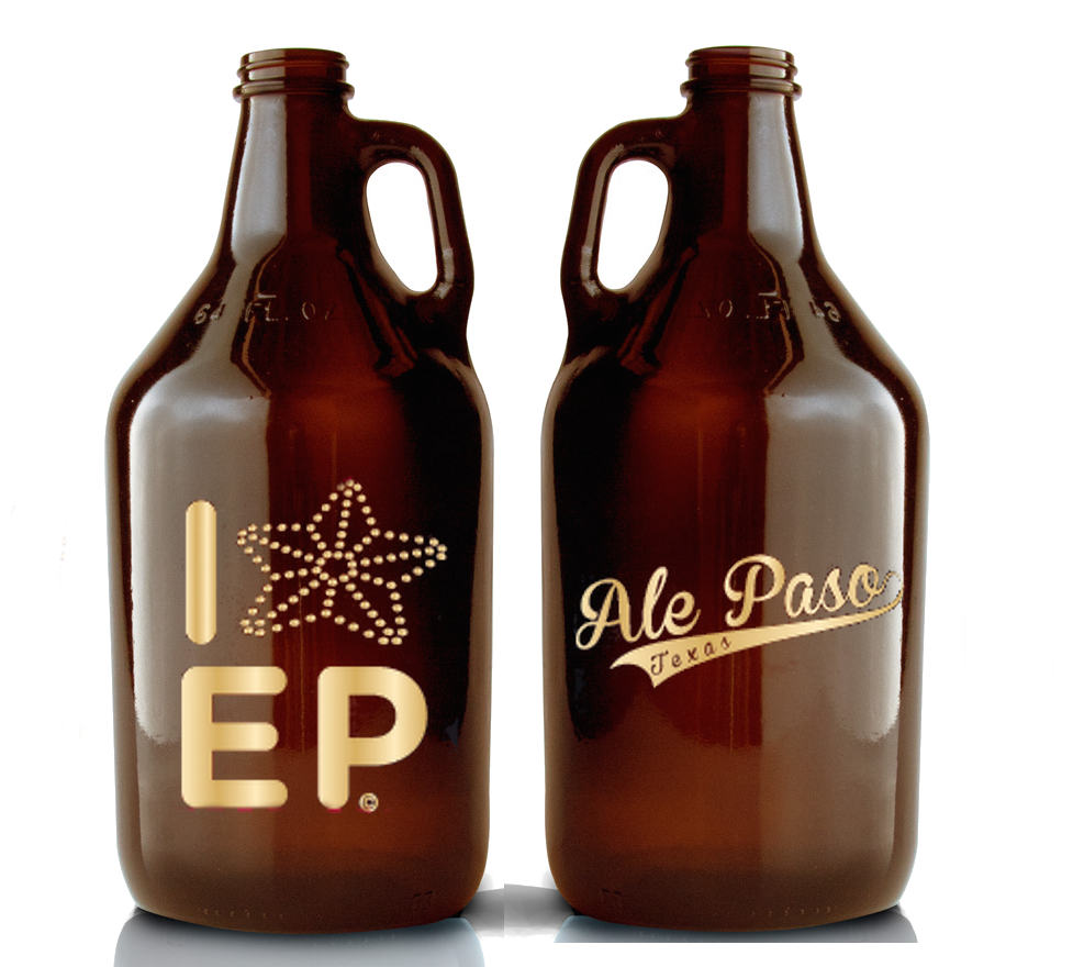 Color printing el paso tx - I Star Ep Gold Metallic Print Limited Edition Growler 64 Oz