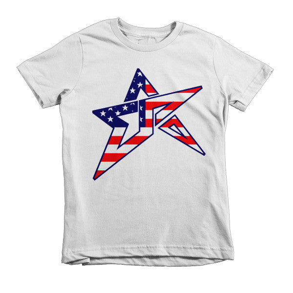 El Paso Star Design With American Flag Kids T Shirt Ale Paso