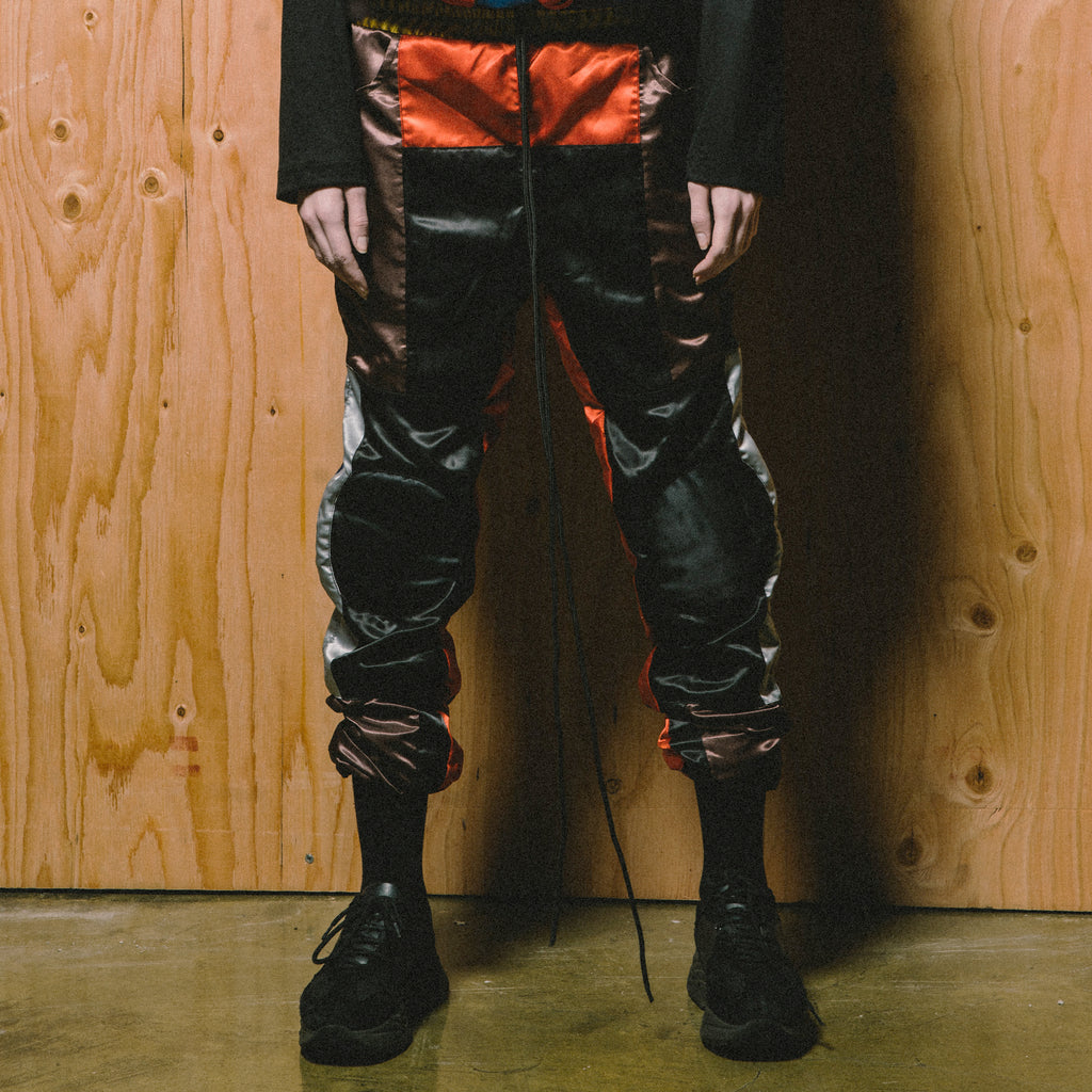 Silk Kneepad Pants