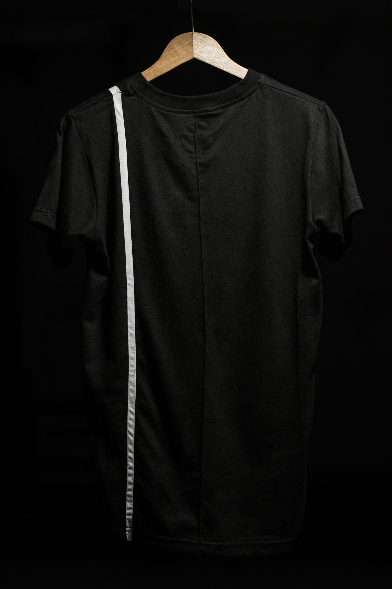 Slim One Stripe Basic Tee