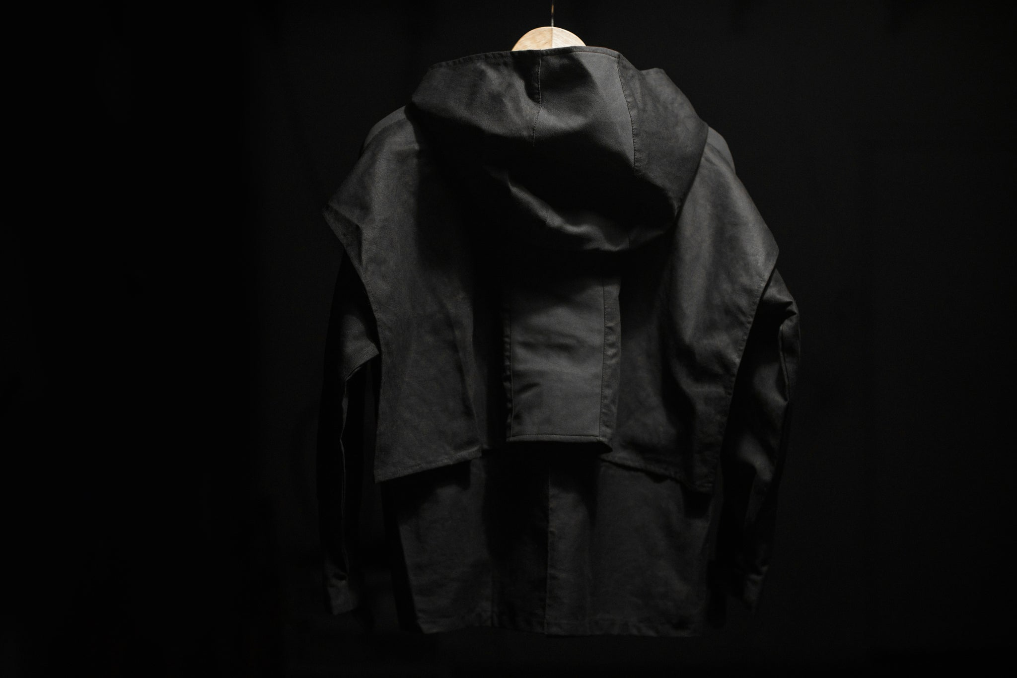 Sash Canvas Parka