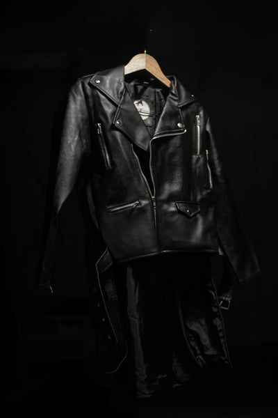Biker Jacket with Train