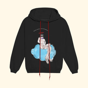 Me STILL Trying To Get Into Heaven Hoodie