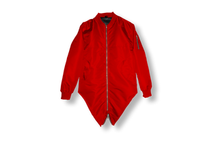Red Double Tailed Flight Jacket