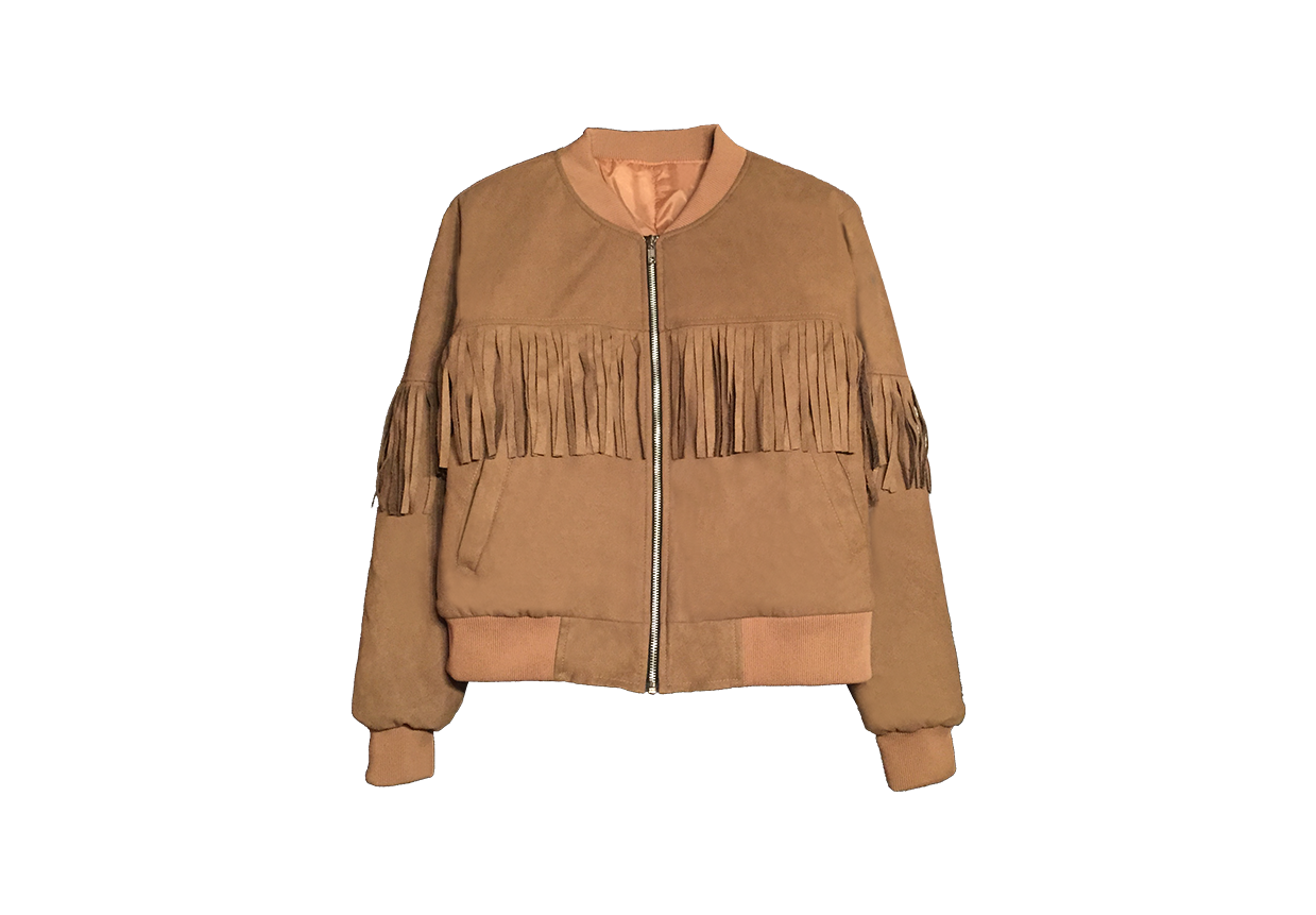 Fringed Bomber in Camel