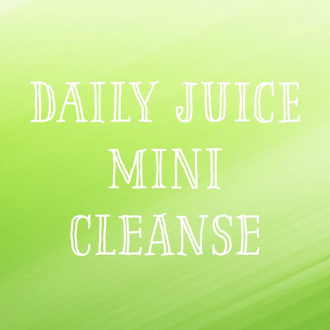 1 Day Mini Cleanse