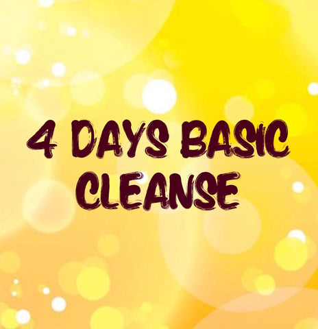 Free Delivery: 4 Days Basic Cleanse