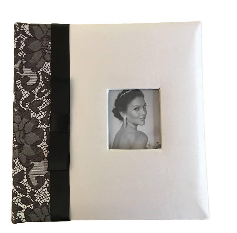 Photo Album with Black Lace