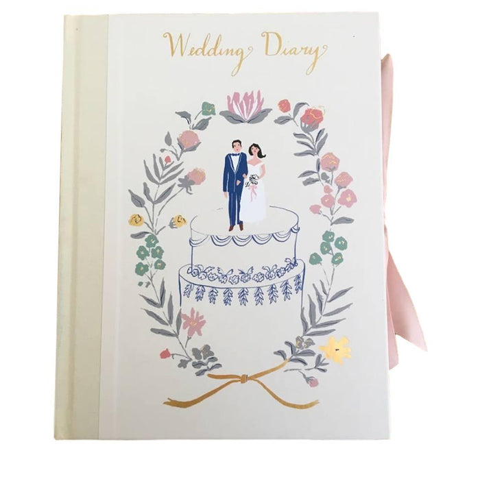 Roger La Borde - 'Wedding Couple on Cake' Wedding Diary