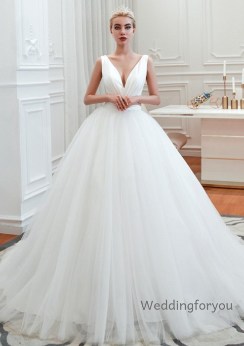 simple ball gown