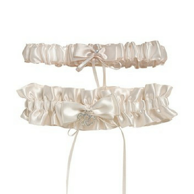 Ivory Two Pack Garter