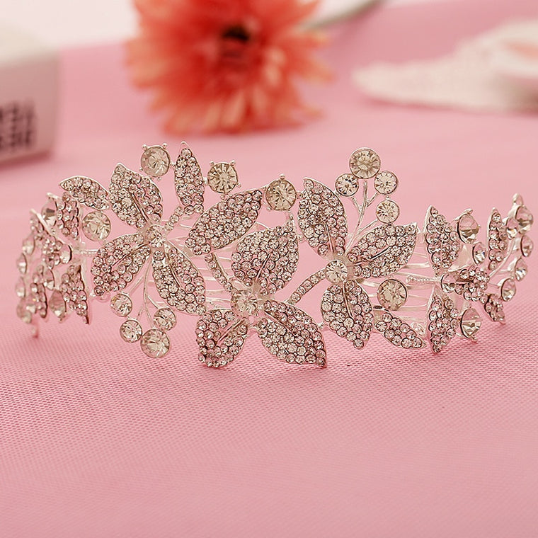 Crystal Bridal Rhinestone Hair Comb