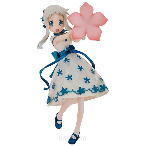 Anohana 'The Flower We Saw That Day' AQUAMARINE 1/8 Scale Figure : Meiko Honma [Dress-up Chibi Menma] - HYPETOKYO