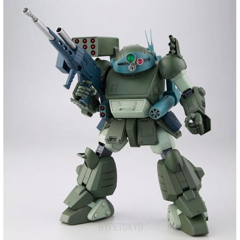 Armored Trooper Votoms Bandai Plastic Model : Scope Dog Turbo Custom [The Last Red Shoulder Ver.] - HYPETOKYO