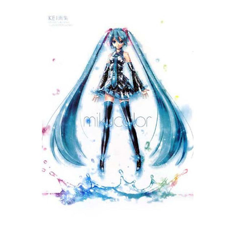 ART BOOK : KEI Illustrations Works [Hatsune Miku Vocaloid mikucolor] - HYPETOKYO