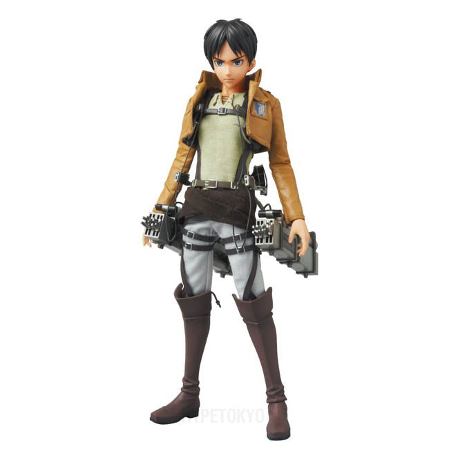 Attack on Titan REAL ACTION HEROES (ACTION FIGURE) : Eren Yeager - HYPETOKYO