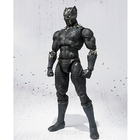 Captain America [Civil War] S.H.Figuarts : Black Panther - HYPETOKYO