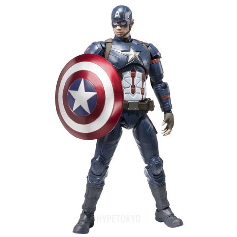 Captain America [Civil War] S.H.FIGUARTS : Captain America - HYPETOKYO