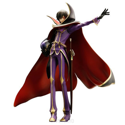 CODE GEASS Lelouch of the Rebellion R2 Mega House 1/8 Scale Figure : ZERO [10th anniversary Ver.] - HYPETOKYO