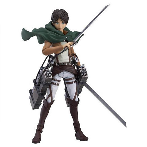 Attack on Titan figma : Eren Yeager - HYPETOKYO