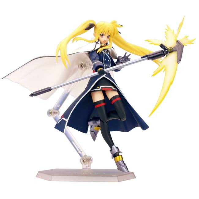 Magical Girl Lyrical Nanoha StrikerS figma : Fate T. Harlaown [Barrier Jacket ver.] - HYPETOKYO