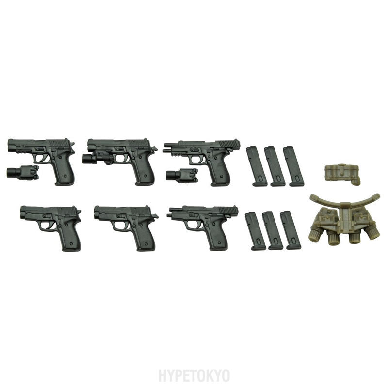 LittleArmory 1/12 Scale Plastic model : P226Type and P228Type - HYPETOKYO