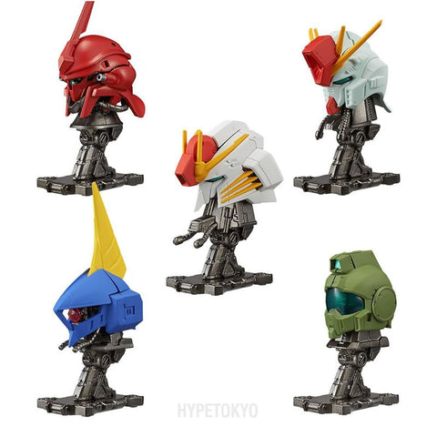 Mobile Suit Gundam CANDY TOY SERIES : Machine Head2 10Pack BOX