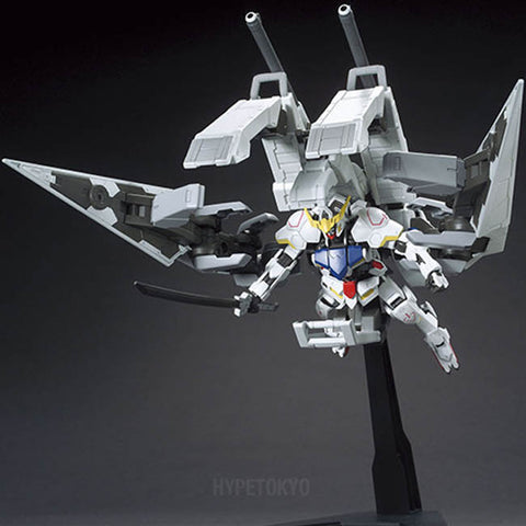 Mobile Suit Gundam Iron-Blooded Orphans HIGH GRADE : Gundam Barbatos & Long-range Transport Booster Kutan TYPE-III - HYPETOKYO