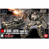 Mobile Suit Gundam UC HGUC : D-50C Loto Twin Set