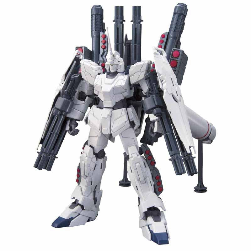 Mobile Suit Gundam UC HGUC 1/144 Plastic Model : Rx-0 Full Armor Unicorn Gundam [Unicorn Mode] - HYPETOKYO