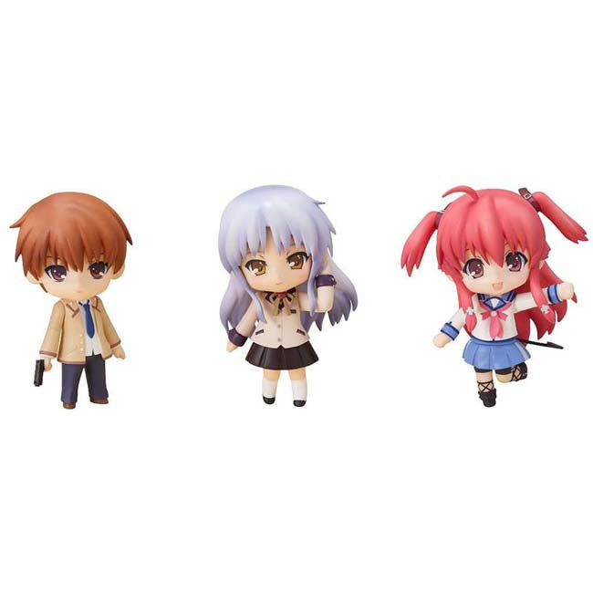 Angel Beats! Nendoroid Petite : Angel Beats Set 02 - HYPETOKYO