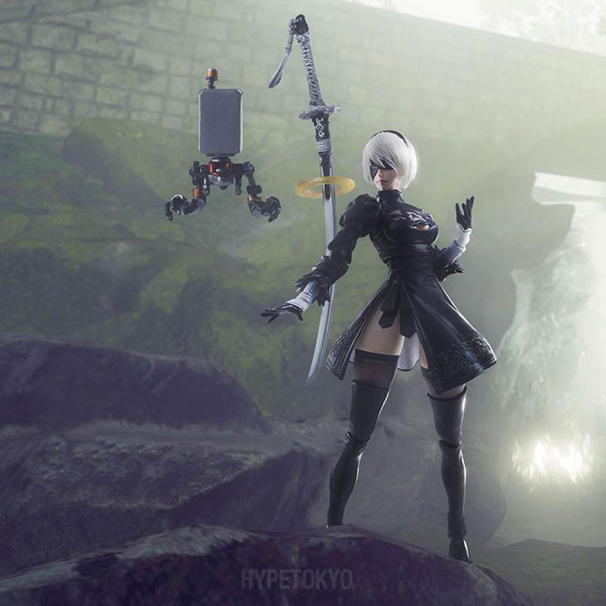 Premise Indicator Words: NieR:Automata Square Enix BRING ARTS Action Figure : 2B