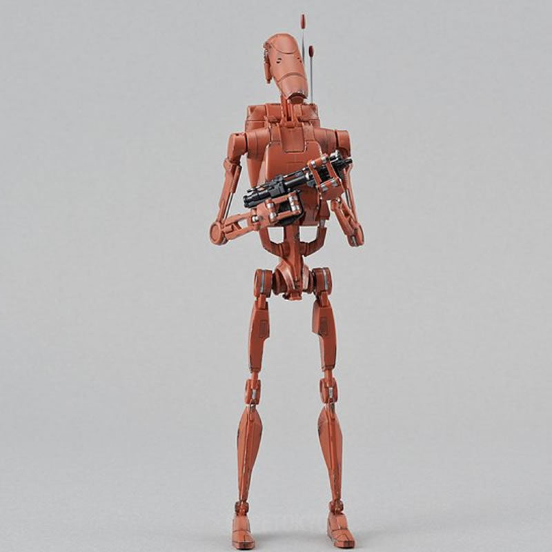 Star Wars Bandai 1 12 Plastic Model Battle Droid Geonosis Color
