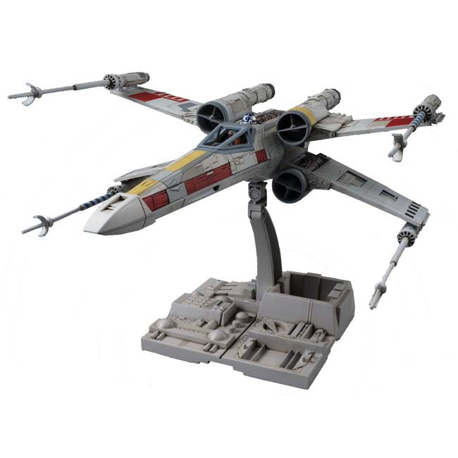 Star Wars Bandai 1/72 Plastic Model : X-Wing Star Fighter - HYPETOKYO