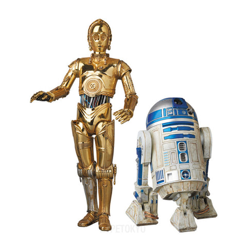 STAR WARS (TM) MAFEX (ACTION FIGURE) : C-3PO(TM) & R2-D2 - HYPETOKYO