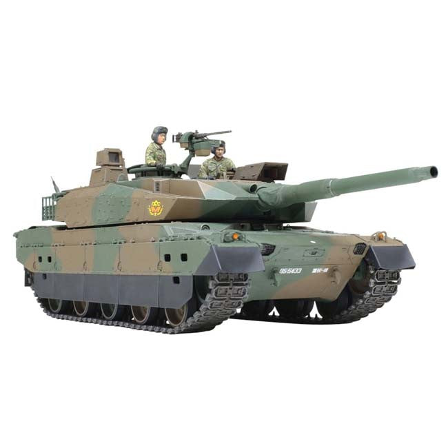 TAMIYA 1/35 Plastic Model : Japan Ground Self Defense Force Type 10 Tank - HYPETOKYO