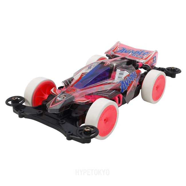 TAMIYA MINI 4WD : Avante MK-II Pink Special Clear Body [MS Chassis] - HYPETOKYO
