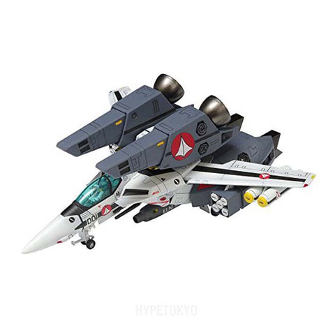 Super Dimension Fortress Macross Wave Plastic Model : VF-1S Super Valkyrie Fighter [Roy Focker Type] - HYPETOKYO