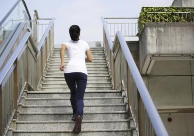 TAKING THE STAIRS TO LOSE WEIGHT