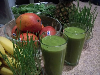SMOOTHIES OF FRUITS AND VEGETABLES