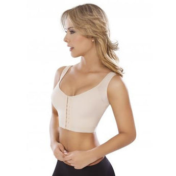 Moldeate Anatomical Sports Bra, Beige