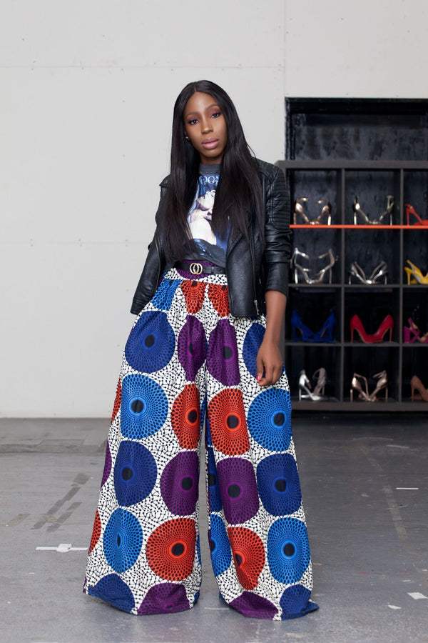 4 Ways To Style African Print Palazzo Pants