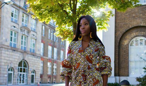African print of the day with Christelle- African print at work?