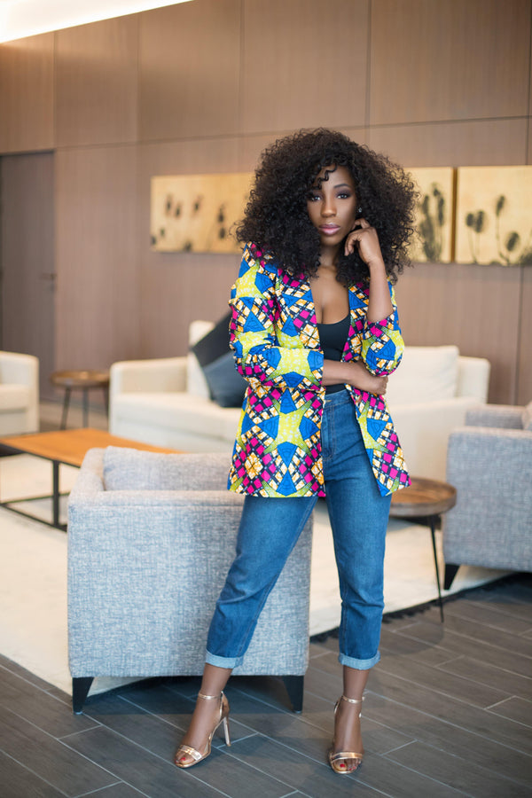 African Print of the Day with Christelle: Be the best YOU