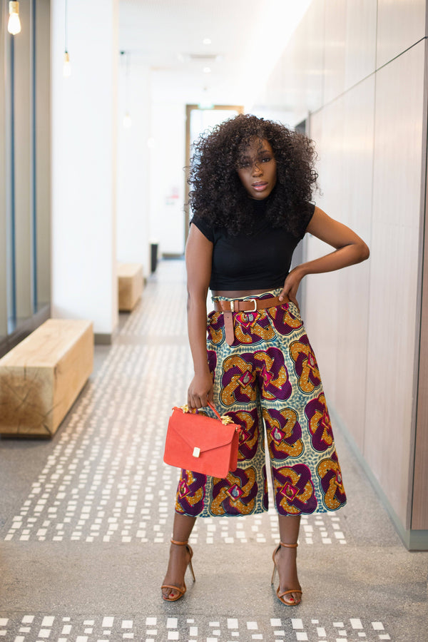 African Print of the Day with Christelle: Culotte up your life