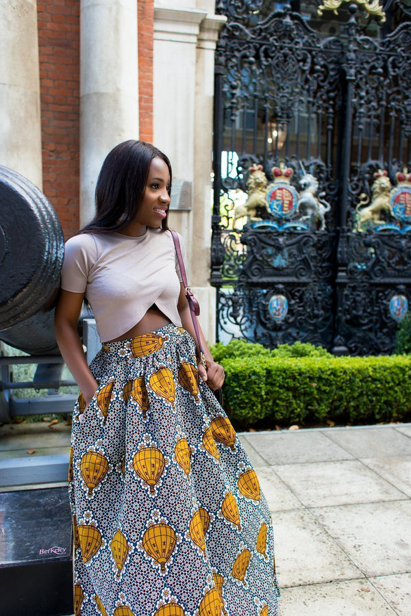 African print of the day with Christelle: Embrace the big moments