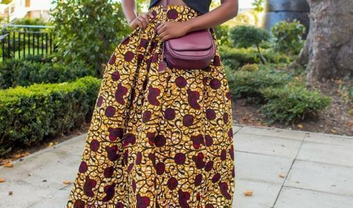 African print of the day with Christelle- Stella McCartney does African print?