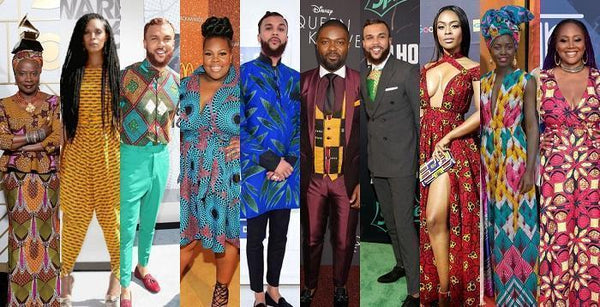 Black Celebrities Basking In Their African Excellence