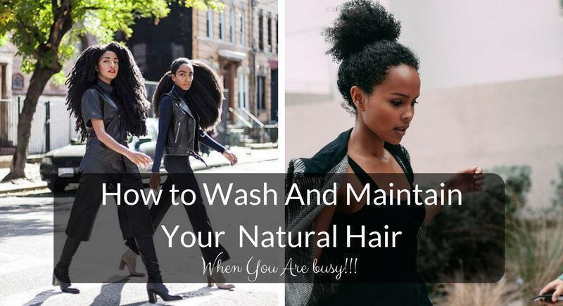 How To Wash And Maintain Your Own Kinky Afro Curly Natural Hair Grass Fields
