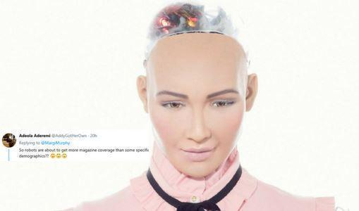 Sophia The Robot's Magazine Cover Has People Talking About Representation